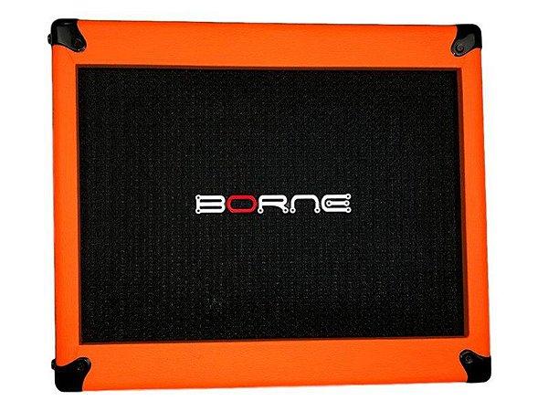 Gabinete caixa borne mob110 70w falante de 10 orange laranja