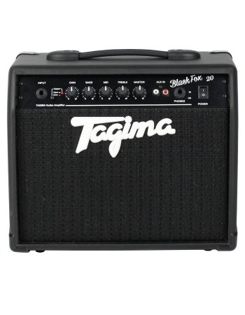 Amplificador Cubo Tagima Black Fox 20 Watts P/ Guitarra