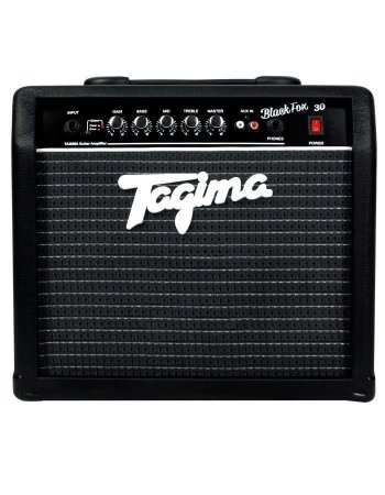 Amplificador Cubo Tagima Black Fox 30 Watts P/ Guitarra