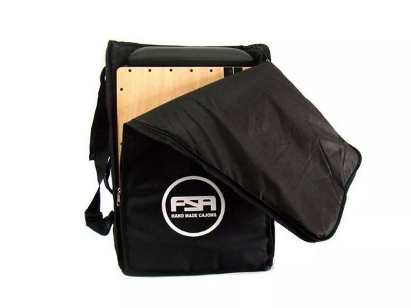 Capa Bag Cajon Acolchoado Estofado Fsa comfort Fbc01 Preto