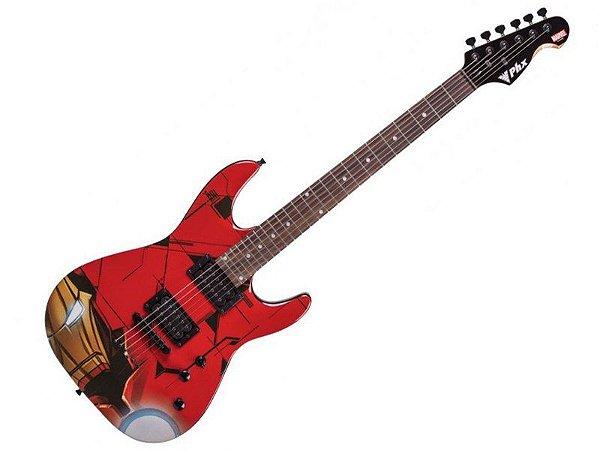 Guitarra Iron Man Homem De Ferro Phx Marvel Gmi1