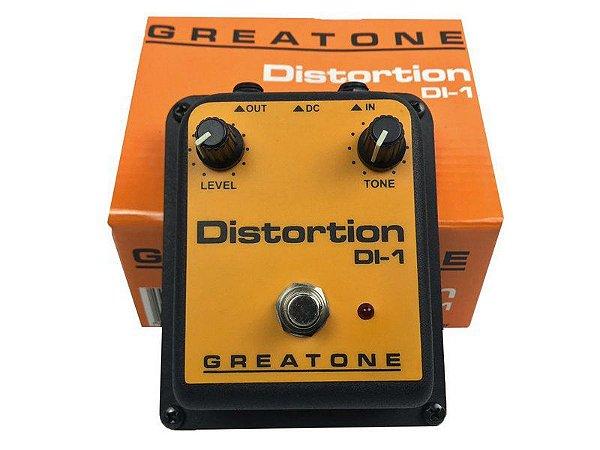 Pedal de distorção distortion Onerr Greatone DI-1 guitarra