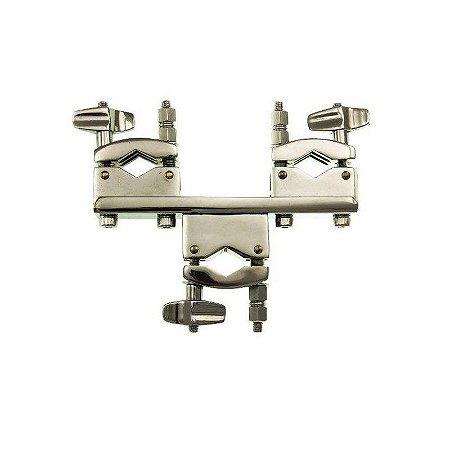 Clamp Torelli Multiuso Com 3 Conexões P/ Ton Holder Ta460