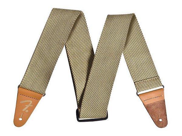 Correia fender tweed cotton vintage Marrom - original
