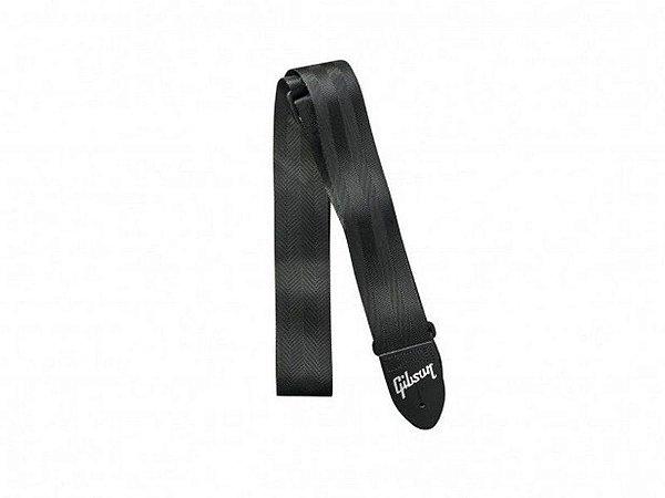 Correia alça Gibson Regular Safety Nylon Preta ASGSB10