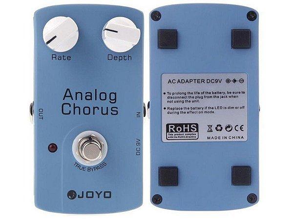 Pedal Chorus Joyo Jf37 Analog Chorus Para Guitarra Violão