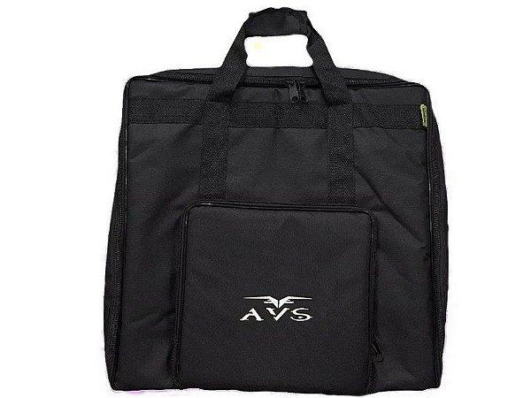 Capa bag Para Acordeon 80 Baixos Avs Super Luxo acolchoado alça mochila
