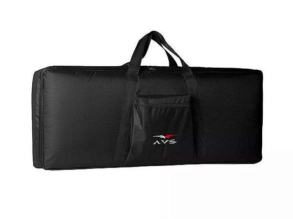 Capa Bag Teclado Luxo 3/8 Acolchoado Avs Casio Roland Yamaha