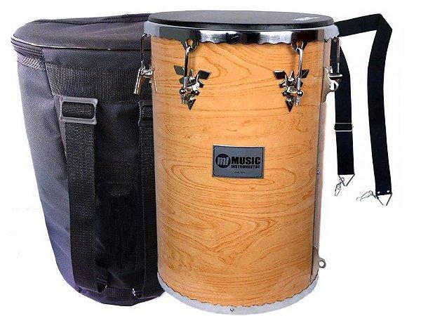 kit Rebolo Madeira 12 profissional music bag Talabarte