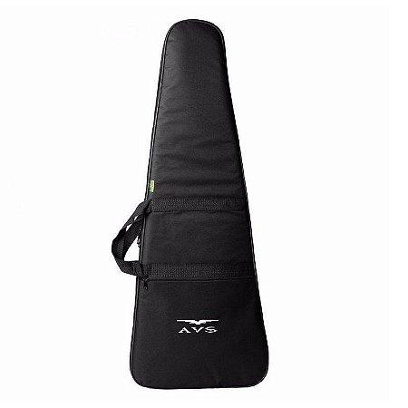 Capa Bag para Contra Baixo Avs Luxo Acolchoado Alça Mochila