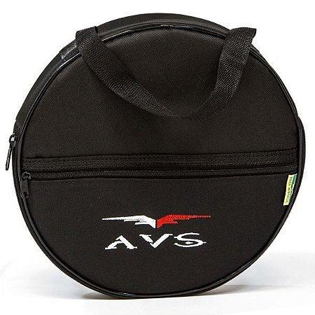 Capa bag para Pratos Bateria Avs Super Luxo Acolchoado Alça