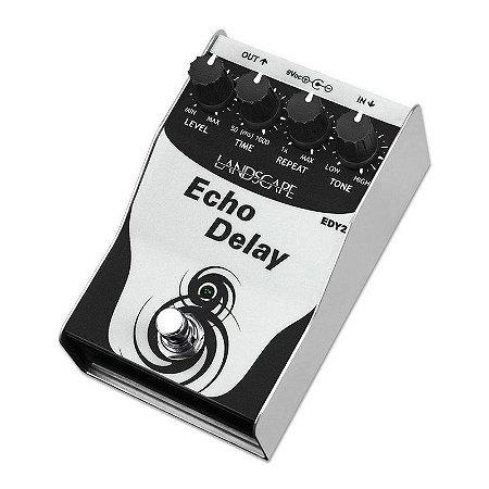 Pedal Landscape Echo Delay Edy2 Para Guitarra Baixo Violao