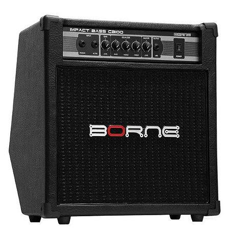 Amplificador Cubo Borne Impact Bass Cb100 - 70w - BAIXO