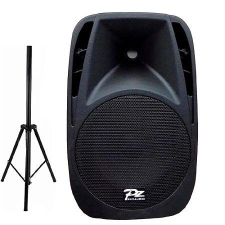 Caixa Ativa Pz Px12a 150wrms Profissional Bluetooth + Tripe