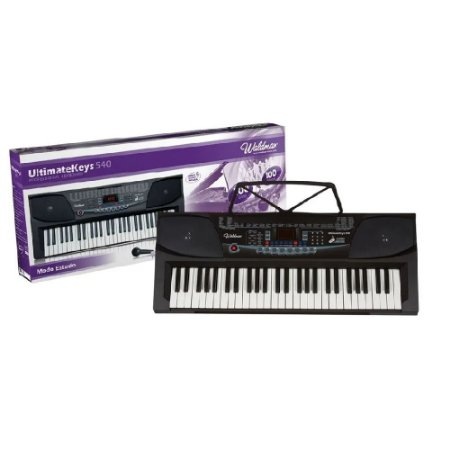 Teclado Musical Com Microfone 54 Teclas Waldman Uk540