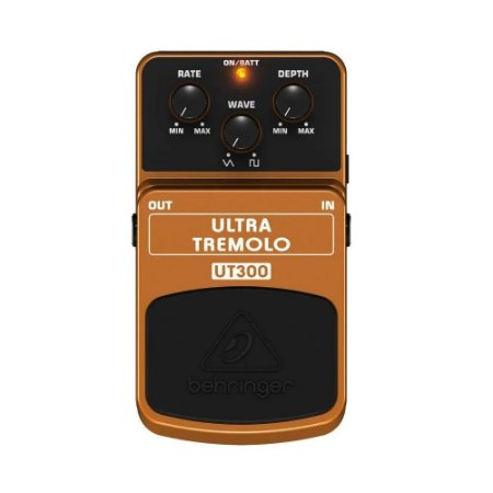 Pedal Tremolo Behringer Ut300 Efeito Para Guitarra E Violão