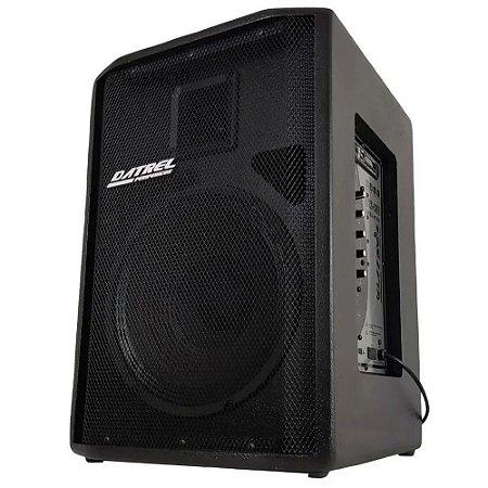 Caixa amplificada Ativa Datrel falante 12 250w Bluetooth