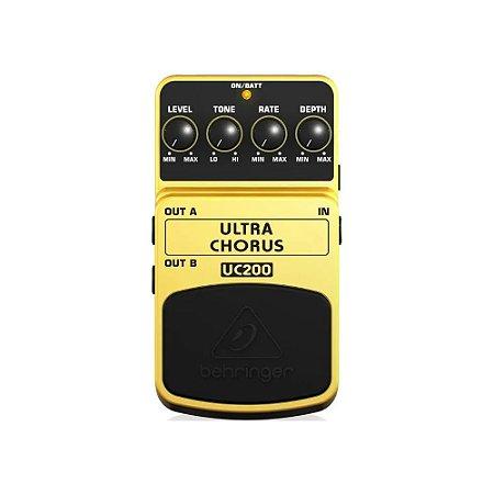 Pedal Chorus Behringer Ultra Chorus Uc200