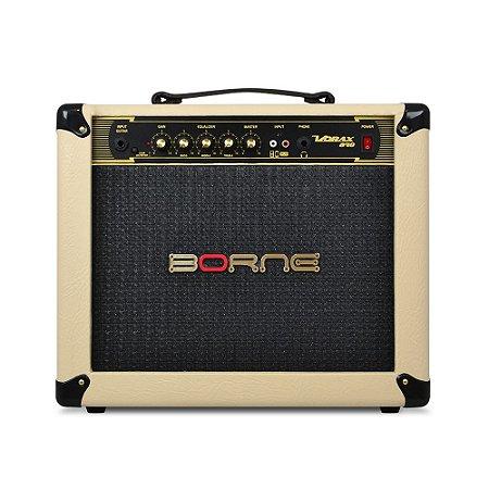 Amplificador Borne Vorax 840 40w Cor Creme