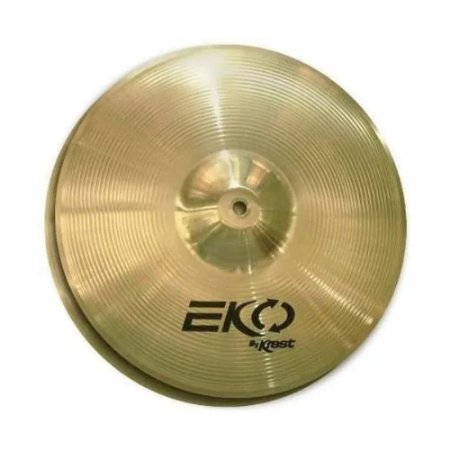 Prato Hi Hat Chimbal Eko 13 Krest Ecol13hh Brass