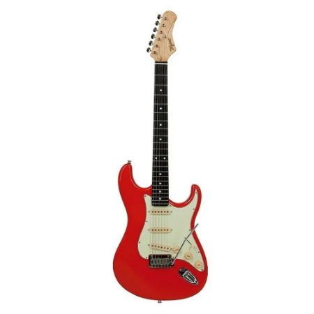 Guitarra Tagima Edu Ardanuy Ea Pro3 Vermelho Fiesta Vintage