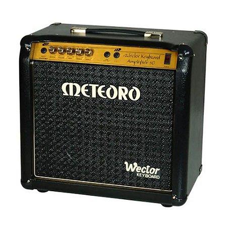 Amplificador Cubo Meteoro Wector 50 P/ Teclado Com Tweeter