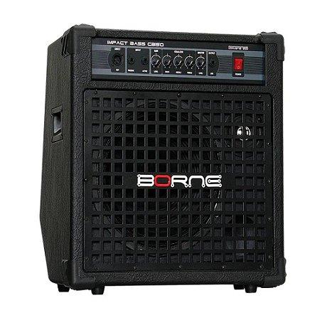 Amplificador Cubo Impact Bass Cb150 Borne Profissional 150w