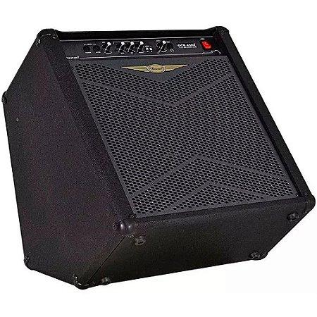 Amplificador Oneal Ocb400x 120w Falante 12 Cubo De Baixo