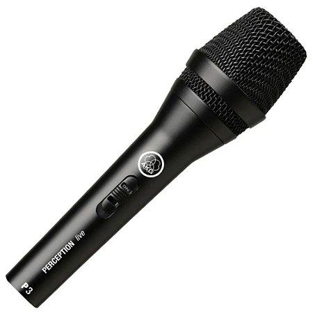 Microfone Akg P3s Com Fio Profissional Perception Original