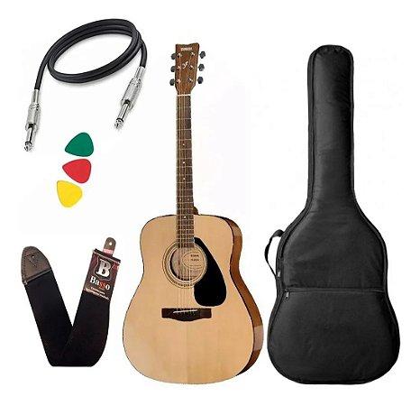 Violão Folk Yamaha Fx310aii Eletrico Aço Natural Capa Cabo