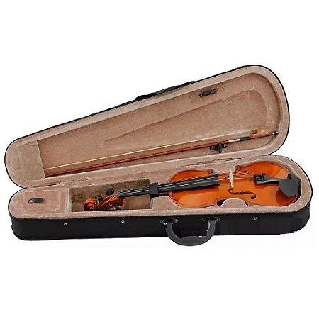 Violino 4/4 Dominante Estudante Especial  Estojo Arco Breu
