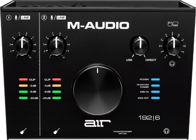 Interface M Audio Air 1926 Usb Midi 2 Canais 24bits