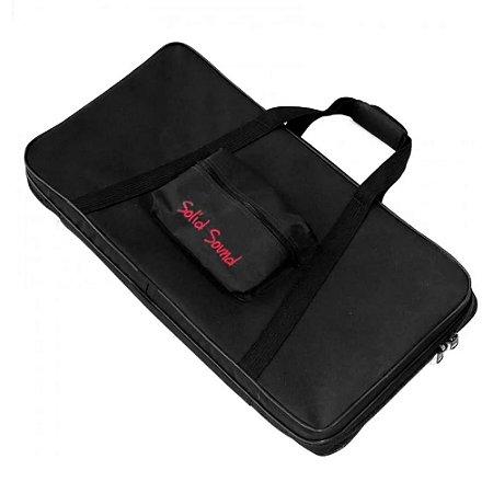 Hard Bag Case Solid Sound Rigido Pedal Pedaleira 68 X 35cm
