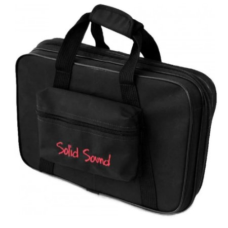 Hard Bag Case Pedal Pedaleira Rigido 38 X 22cm Solid Sound