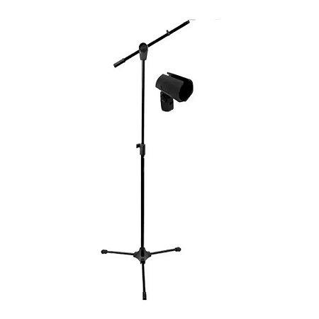 Suporte Pedestal Microfone Estante Rmv Psu0142 Cachimbo