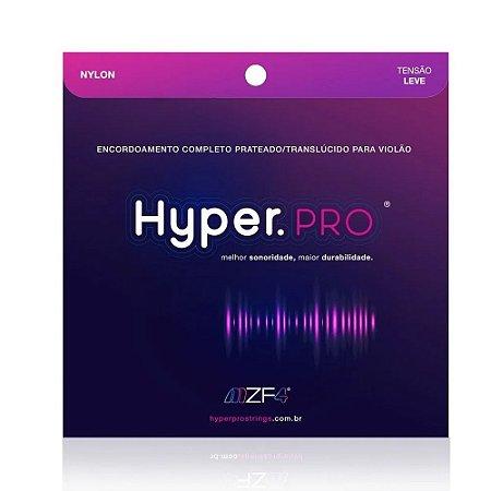 Encordoamento Violão Nylon Hyper Pro 9 Tensão Leve Full