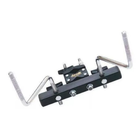 Clamp De Percussão Duplo Mini Rack Para Fixar Torelli Ta452