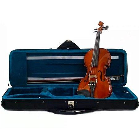 Violino Eagle Ve144 4/4 Arco Breu Estojo Luxo Profissional