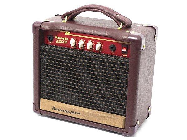 Amplificador cubo Para Violao Meteoro Acoustic V10