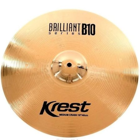 Prato Krest Brilliant Ataque Medium Crash 16 Bronze B10