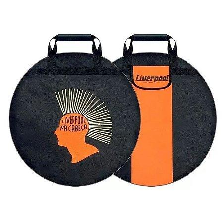 Bag Para Pratos De Bateria Liverpool Capa Acolchoada