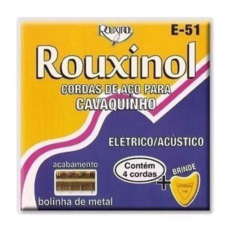 Encordoamento Cavaquinho Cavaco Rouxinol Cordas Aço E51