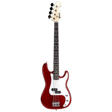 Baixo Infantil Criança Phx Precision Bass Jr 3/4 Vermelho