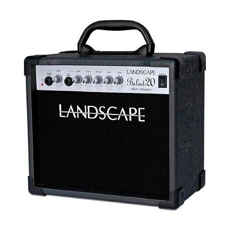 Caixa Amplificador Violão E Voz Balad 20 Landscape Bld20