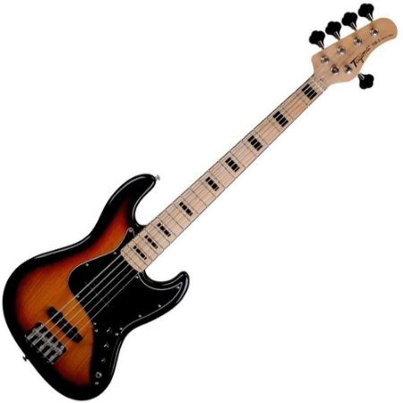 Baixo Tagima Tjb5 Sunburst 5 Cordas Passivo Jazz Bass