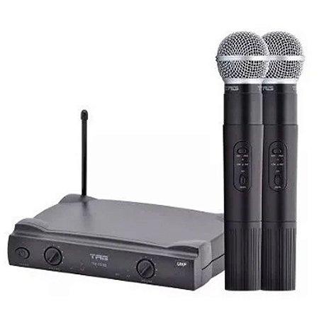 Microfone Sem Fio Duplo Profissional Tag Sound Tagima Tm559b