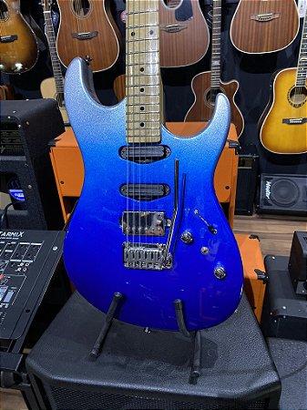 Guitarra Tagima Brasil Stella H3 Azul Metalic Blue Regulada