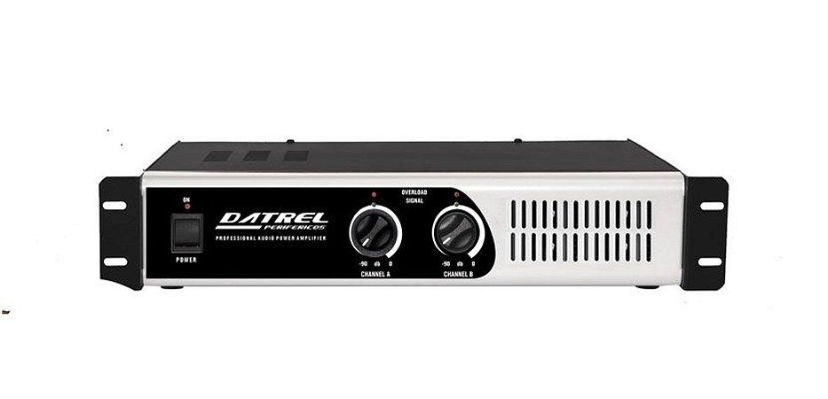 Amplificador De Potencia Datrel Pa1800 Profissional 300 W