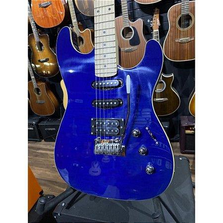 Guitarra Strinberg Sgs180 Azul Tbl Strato Humbucker