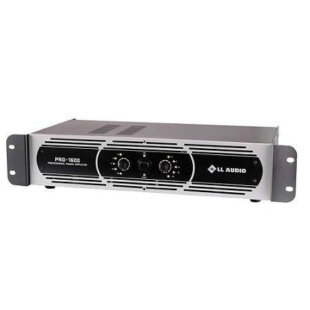 Amplificador de Potencia LL Audio Pro1600 400W